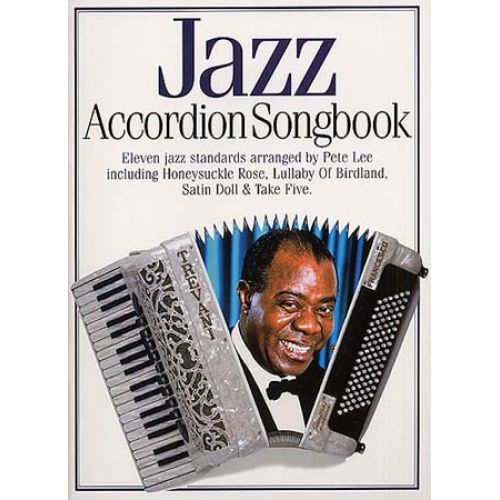 MUSIC SALES JAZZ ACCORDION SONGBOOK