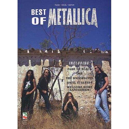 MUSIC SALES CHERRY LANE MUSIC - BEST OF METALLICA - PVG
