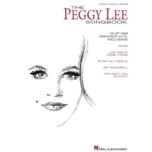 MUSIC SALES THE PEGGY LEE SONGBOOK - PVG