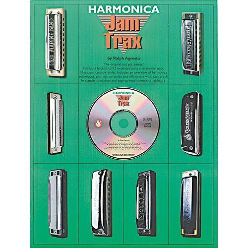 MUSIC SALES JAM TRAX HARMONICA + CD - HARMONICA