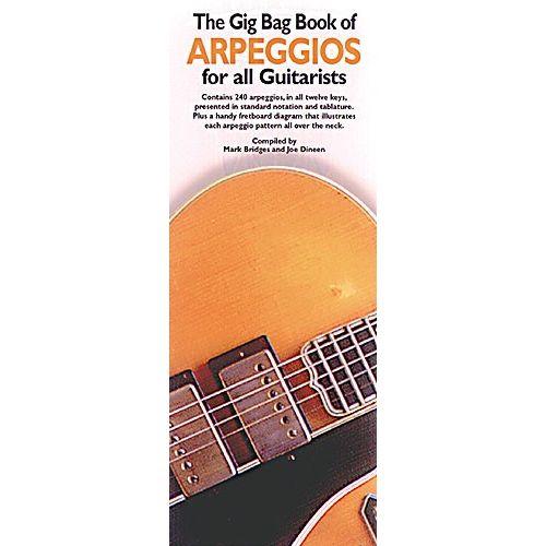 MUSIC SALES GIG BAG BOOK ARPEGGIOS - GUITAR TAB