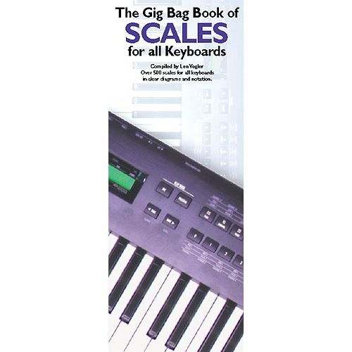 MUSIC SALES GIG BAG BOOK SCALES - KEYBOARDS