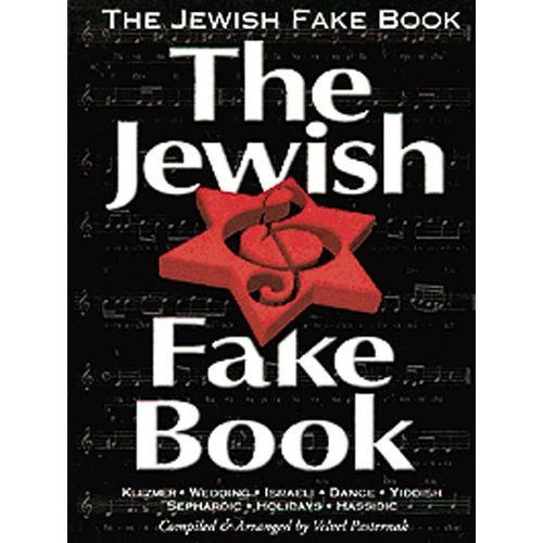 MUSIC SALES THE JEWISH FAKE- MELODY LINE, LYRICS AND CHORDS