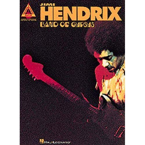 MUSIC SALES JIMI HENDRIX BAND OF GYPSYS GUITAR RECORDED VERSIONS - GUITAR TAB