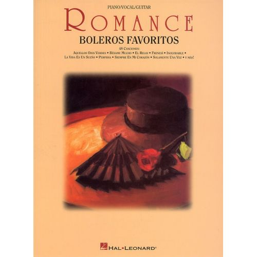MUSIC SALES ROMANCE - BOLEROS FAVORITOS - PVG