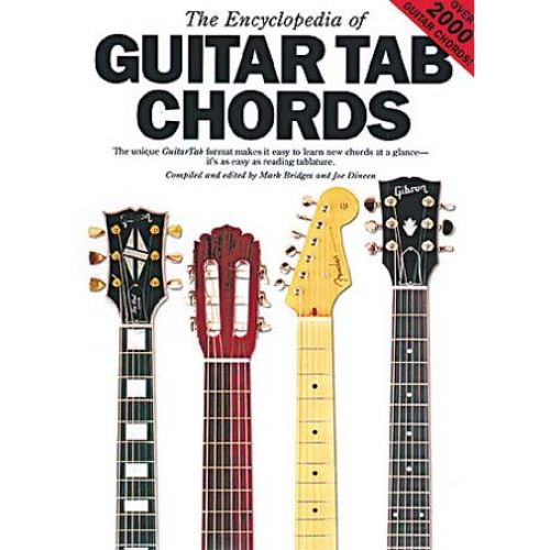 MUSIC SALES GUITAR TAB CHORDS ENCYCLOPEDIA