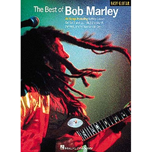 MUSIC SALES THE BEST OF BOB MARLEY - MELODY LINE, LYRICS AND CHORDS
