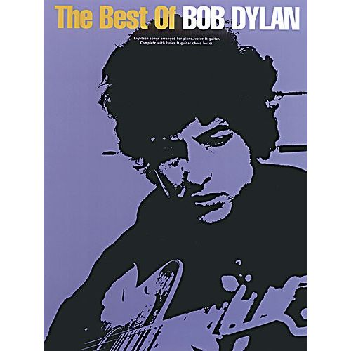 MUSIC SALES THE BEST OF BOB DYLAN - PVG