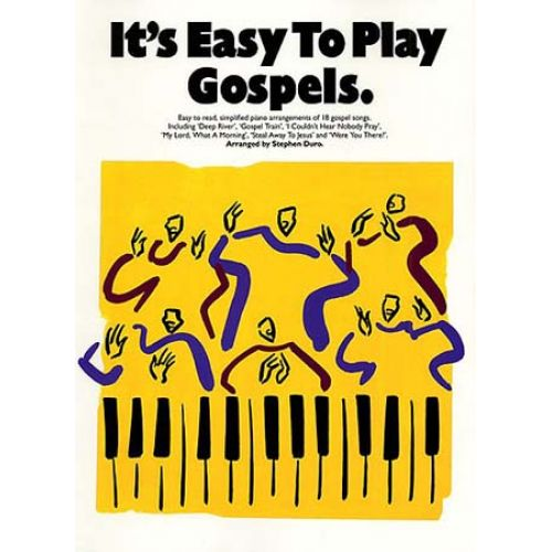MUSIC SALES IT'S EASY TO PLAY GOSPELS