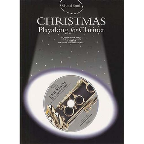 MUSIC SALES GUEST SPOT - CHRISTMAS + CD - CLARINET