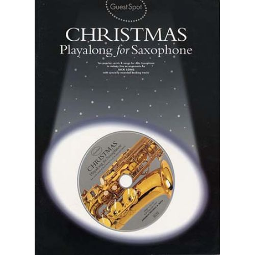 MUSIC SALES GUEST SPOT - CHRISTMAS + CD - SAXOPHONE ALTO