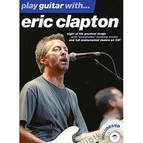 WISE PUBLICATIONS PLAY GUITAR WITH... ERIC CLAPTON VOL.1 + CD