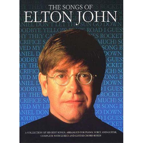MUSIC SALES JOHN ELTON - SONGS OF - PVG