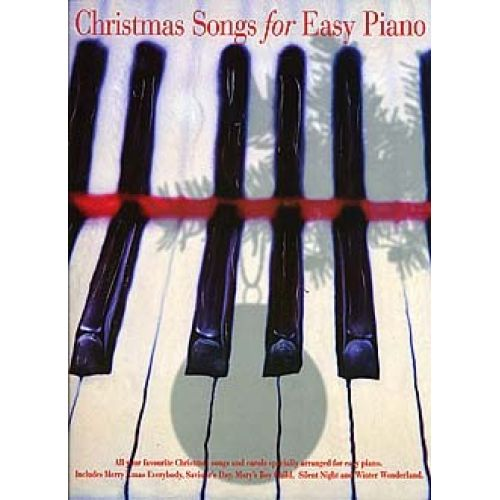 WISE PUBLICATIONS CHRISTMAS SONGS FOR EASY PIANO - PVG