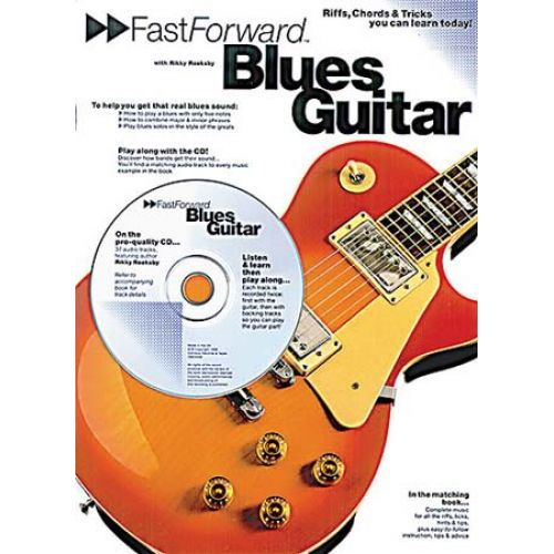 MUSIC SALES FAST FORWARD BLUES + CD - GUITAR TAB
