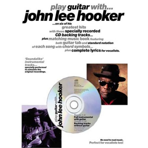WISE PUBLICATIONS HOOKER JOHN LEE PLAY GUITAR WITH CD TAB