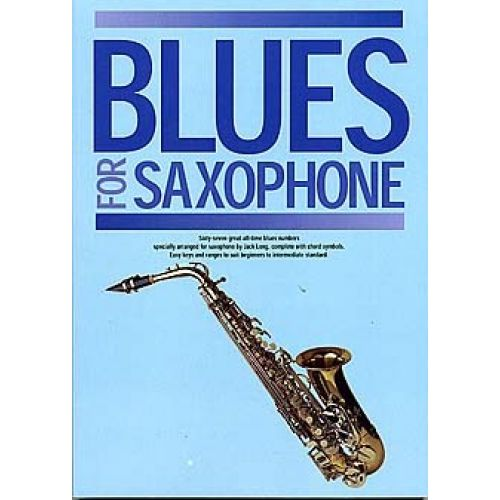 WISE PUBLICATIONS BLUES FOR SAXOPHONE - SAXOPHONE