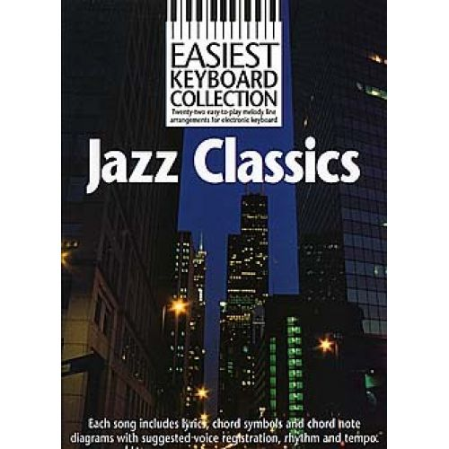 MUSIC SALES JAZZ CLASSICS - MELODY LINE, LYRICS AND CHORDS