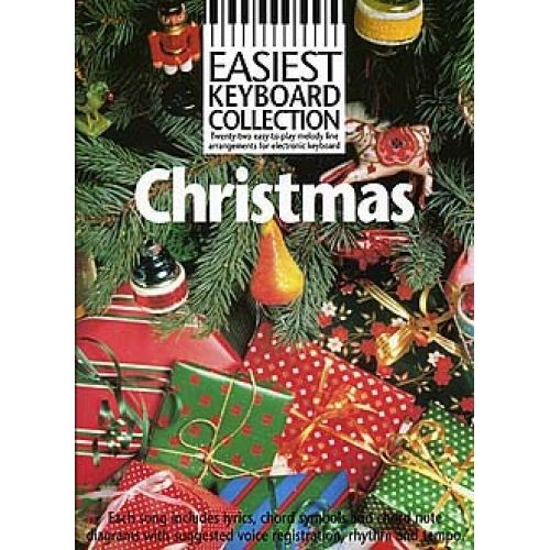 WISE PUBLICATIONS CHRISTMAS - EASIEST KEYBOARD COLLECTION - MELODY LINE, LYRICS AND CHORDS