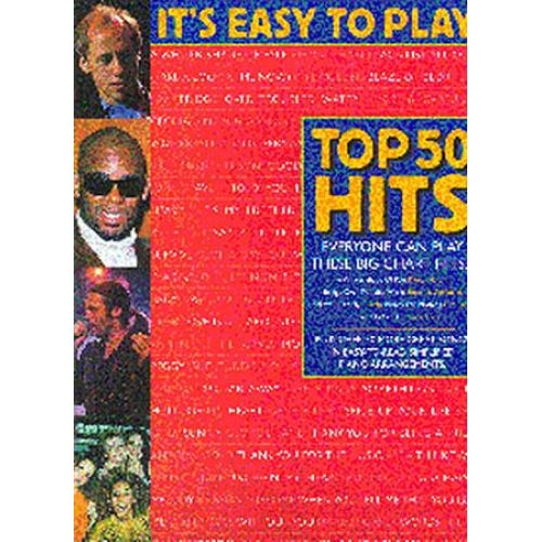 WISE PUBLICATIONS IT'S EASY TO PLAY TOP 50 HITS 2 - PVG