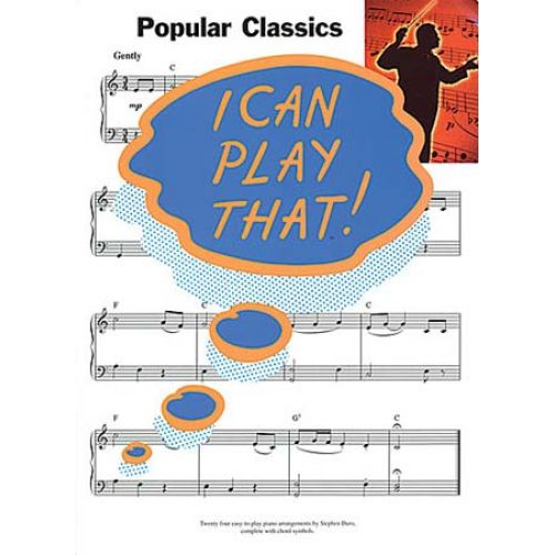 WISE PUBLICATIONS I CAN PLAY THAT! - POPULAR CLASSICS - LYRICS AND CHORDS