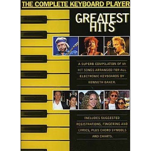 WISE PUBLICATIONS COMPLETE KEYBOARD PLAYER GREATEST HIT - KEYBOARD