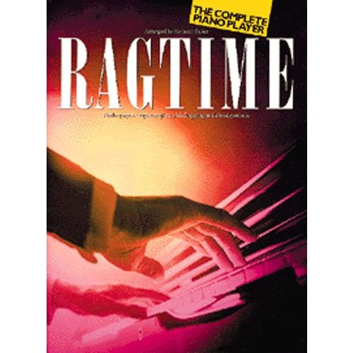 MUSIC SALES BAKER - THE COMPLETE PIANO PLAYER - RAGTIME - PIANO SOLO AND GUITAR
