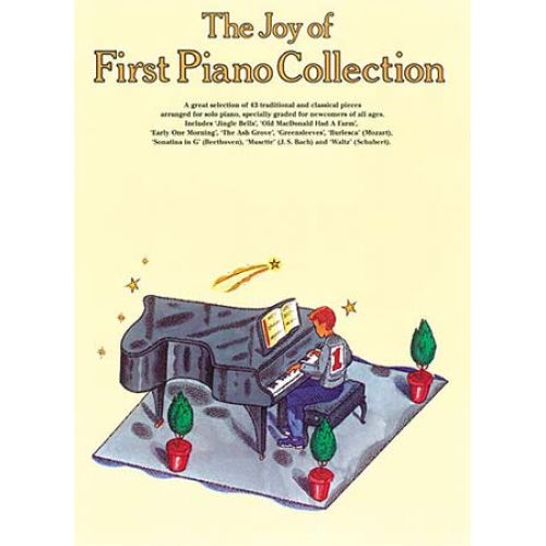 MUSIC SALES JOY OF FIRST PIANO COLLECTION