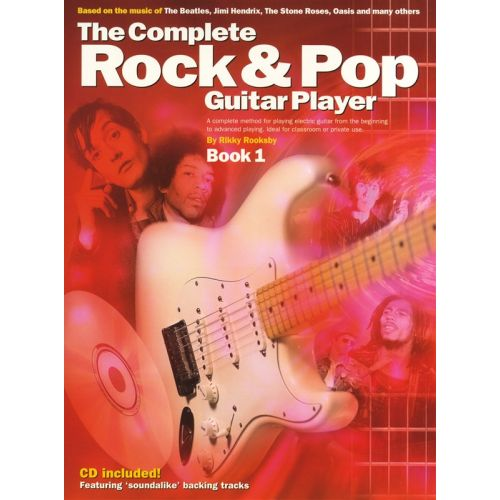 WISE PUBLICATIONS ROOKSBY RIKKY - THE COMPLETE ROCK AND POP GUITAR PLAYER 1 - BOOK 1 - GUITAR