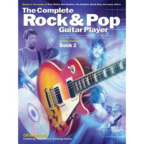 WISE PUBLICATIONS THE COMPLETE ROCK AND POP GUITAR PLAYER - BOOK 2 - GUITAR