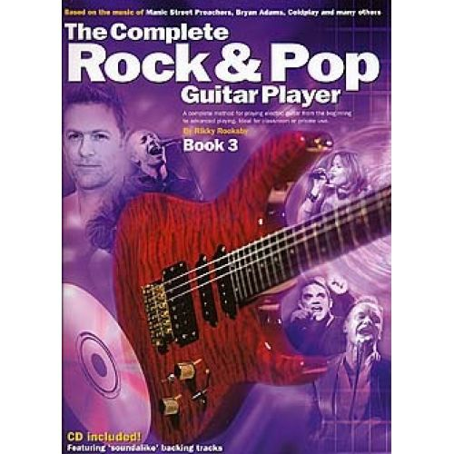 WISE PUBLICATIONS THE COMPLETE ROCK AND POP GUITAR PLAYER - BK. 3 - GUITAR