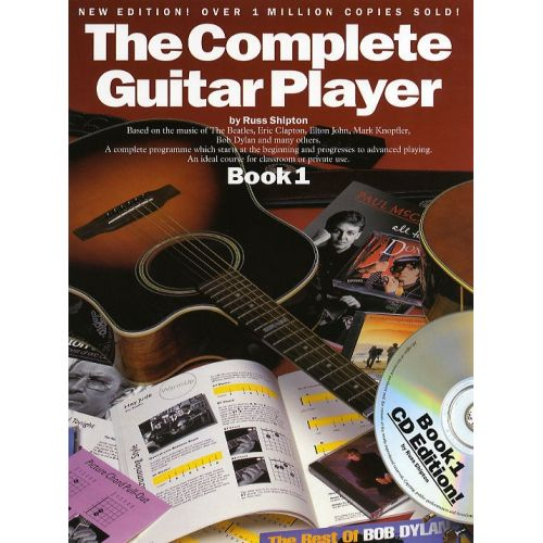 WISE PUBLICATIONS SHIPTON RUSS - THE COMPLETE GUITAR PLAYER - V. 1 - GUITAR