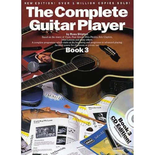 WISE PUBLICATIONS SHIPTON RUSS - THE COMPLETE GUITAR PLAYER - BOOK 3 + CD - GUITAR