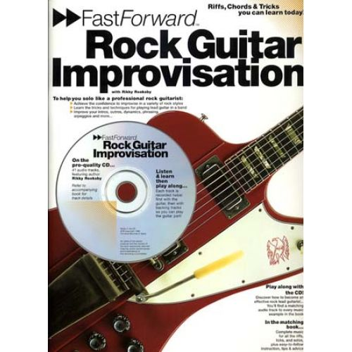 WISE PUBLICATIONS ROOKSBY RIKKY - ROCK GUITAR IMPROVISATION+ CD - GUITAR TAB