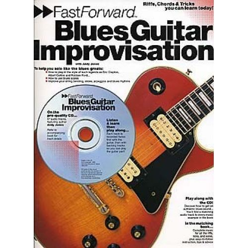 WISE PUBLICATIONS BLUES GUITAR IMPROVISATION - GUITAR