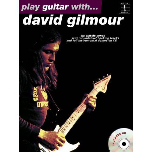 MUSIC SALES PLAY GUITAR WITH DAVID GILMOUR + CD
