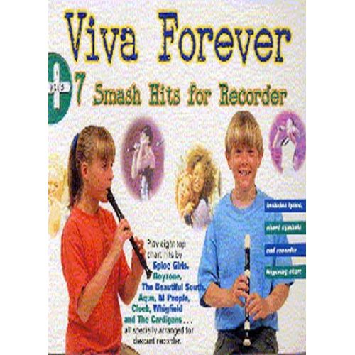 WISE PUBLICATIONS Viva Forever + 7 Smash Hits - Recorder