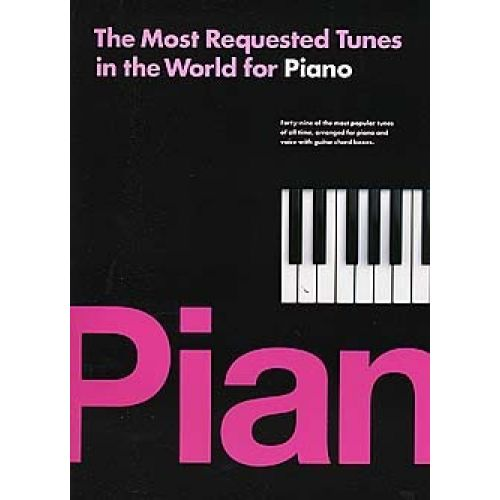 WISE PUBLICATIONS THE MOST REQUESTED TUNES IN THE WORLD FOR PIANO - PVG