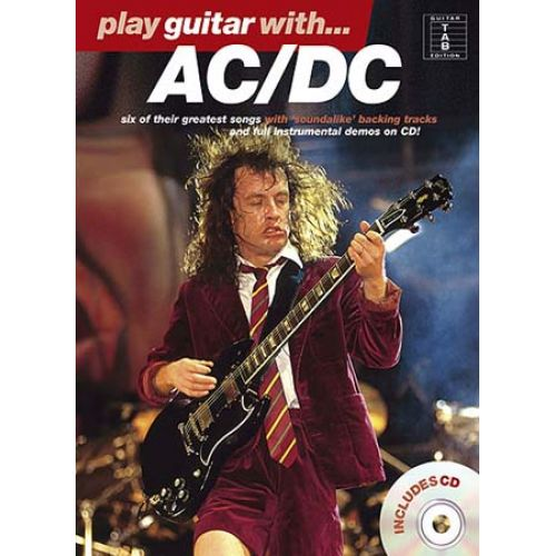 WISE PUBLICATIONS PLAY GUITAR WITH... AC/DC +CD
