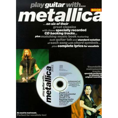 WISE PUBLICATIONS PLAY GUITAR WITH... METALLICA VOL.2 + CD