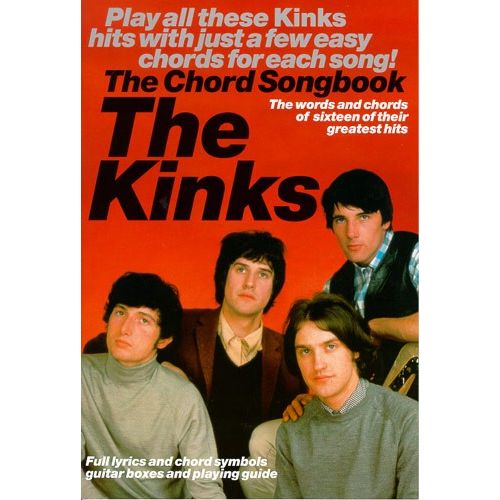 WISE PUBLICATIONS THE KINKS THE CHORD SONGBOOK - LYRICS AND CHORDS