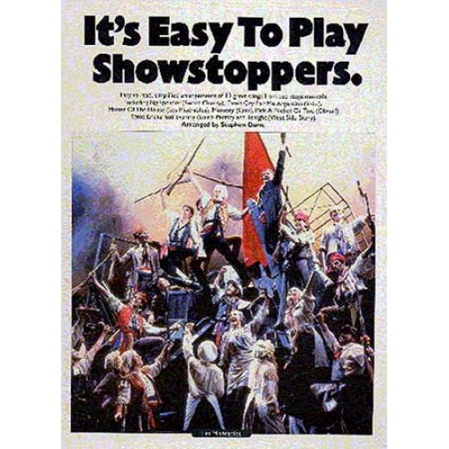 MUSIC SALES IT'S EASY TO PLAY SHOWSTOPPERS - PVG