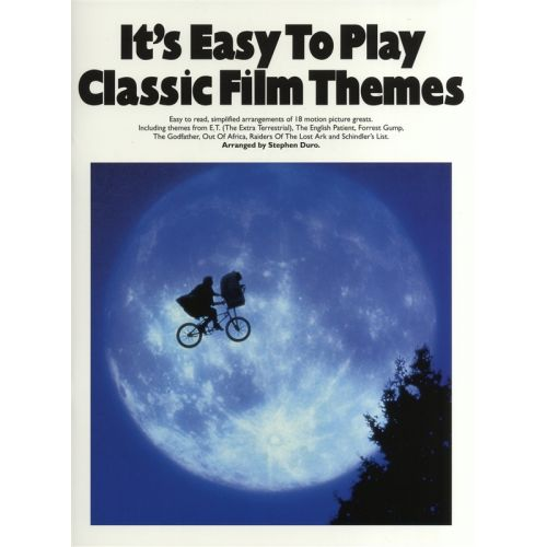 WISE PUBLICATIONS STEPHEN DURO - IT'S EASY TO PLAY CLASSIC FILM THEMES-SIMPLE - PIANO SOLO AND GUITAR
