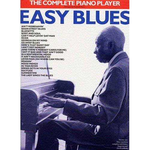 WISE PUBLICATIONS K/ BAKER - THE COMPLETE PIANO PLAYER - EASY BLUES - PVG
