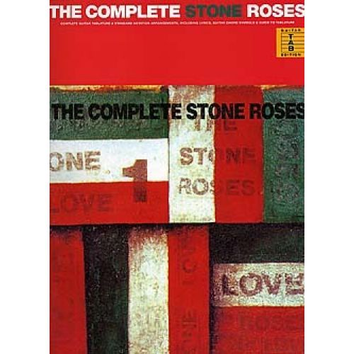 WISE PUBLICATIONS THE COMPLETE STONE ROSES - COMPLETE GUITAR TABLATURE - GUITAR TAB