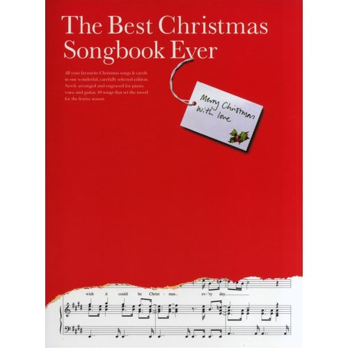 WISE PUBLICATIONS OMNIBUS PRESS - THE BEST CHRISTMAS SONGBOOK EVER - PVG
