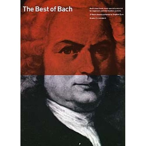 WISE PUBLICATIONS BACH - BEST OF 27 CLASSICS - PIANO