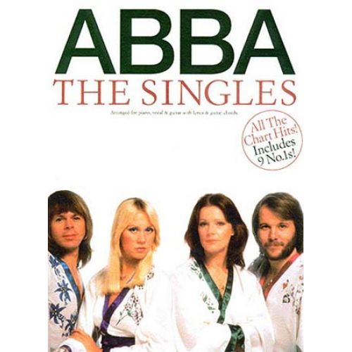 MUSIC SALES ABBA - THE SINGLES - PVG