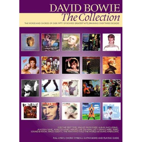 WISE PUBLICATIONS BOWIE DAVID - THE COLLECTION