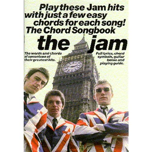 WISE PUBLICATIONS PETER EVANS - THE JAM CHORD SONGBOOK - LYRICS AND CHORDS